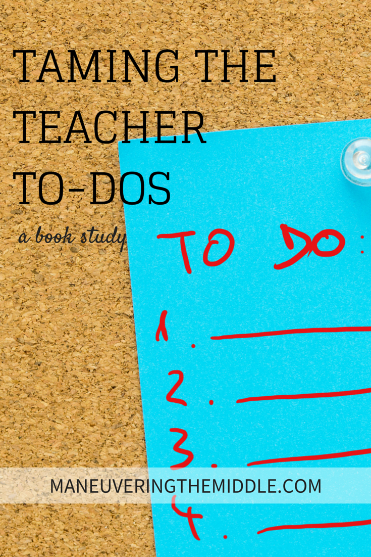 Taming+the+Teacher+To-Dos