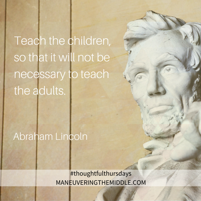 Lincoln+education+quote