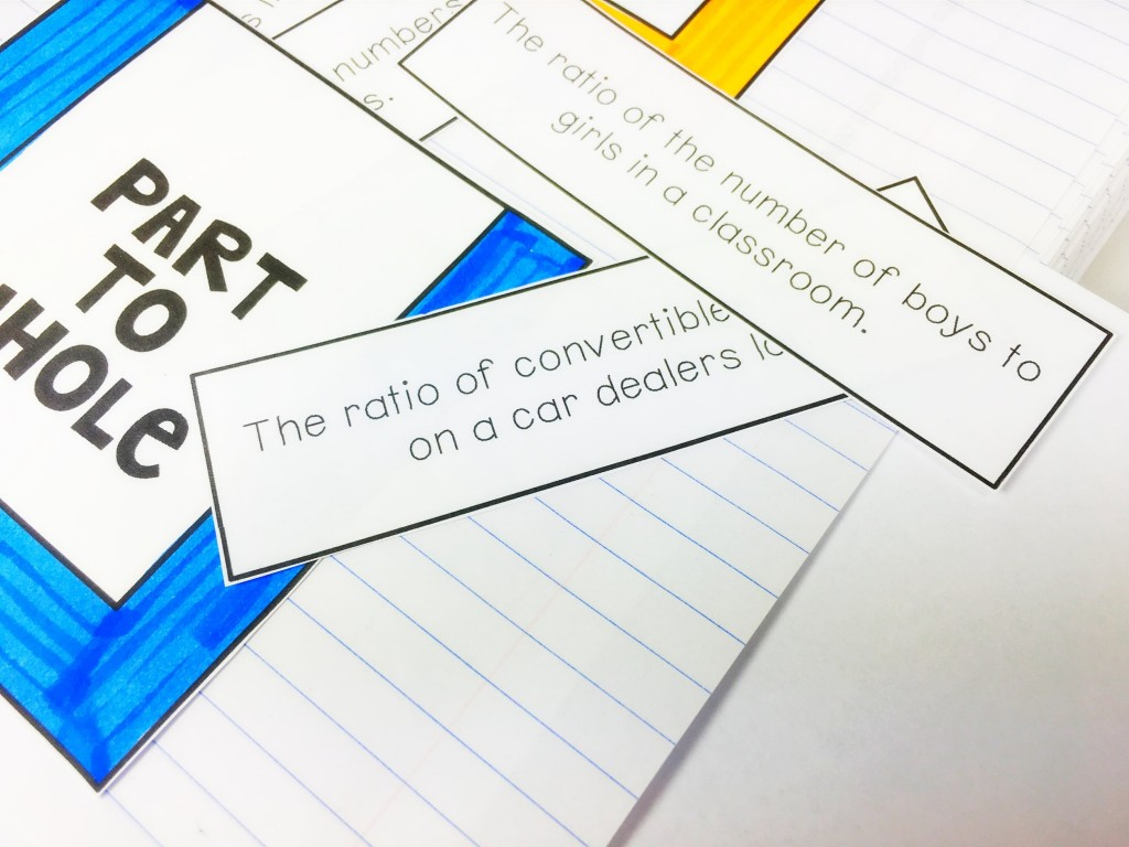 Math interactive notebooks are a great hands-on tool to engage students in the content and process. Three ways to incorporate vocabulary into your INBs.