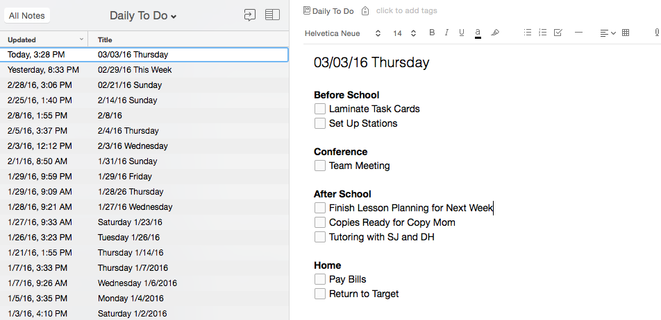5 Evernote Tips for Teachers to reduce their desk clutter and stay organized. Keep everything from to-do lists to behavior documentation in one place.