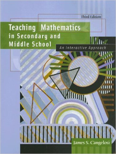 Teaching Math in Sec and MS