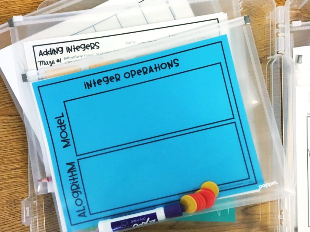 Five ideas for teacher organization to keep papers at bay and create a place for everything in the classroom! manevueringthemiddle.com