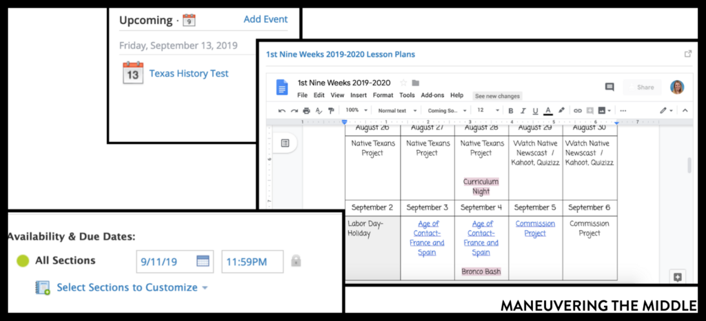 Learning management systems like Schoology can help teachers and students in all classrooms. Here are 5 tips to making the most of your Schoology account. | maneuveringthemiddle.com
