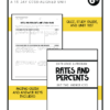 rates and percents unit 4