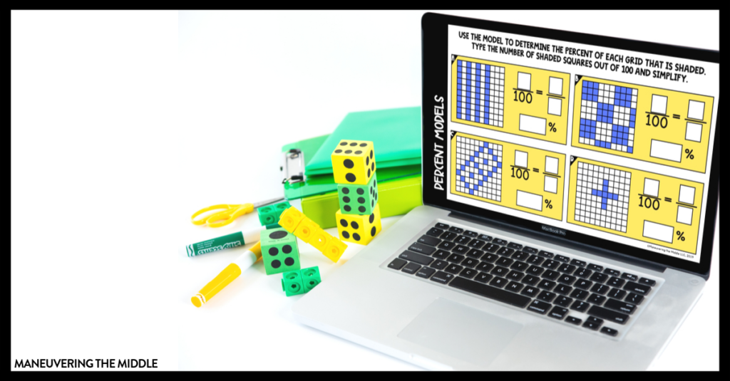 Digital activities are a great way to engage students! Read about our new resource and how to use them in your math classroom.   maneuveringthemiddle.com