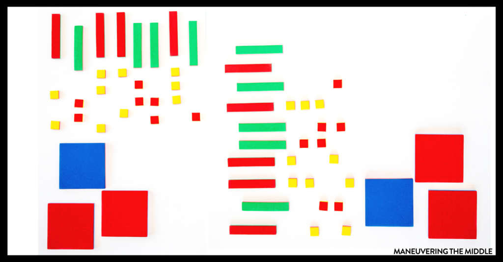 Solving equations is foundational for middle and high school math. Students can struggle to complete the many procedural steps required. Teach students the conceptual knowledge necessary using algebra tiles!   maneuveringthemiddle.com