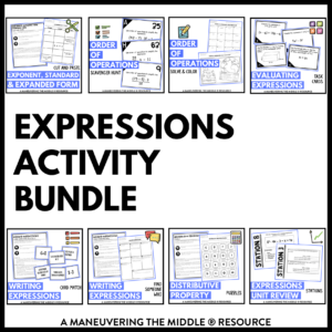 Expressions Activities