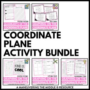 Coorindate Plane Activities