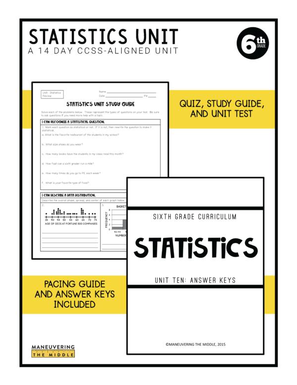 Statistics Unit 4