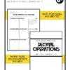 decimal operations unit 3