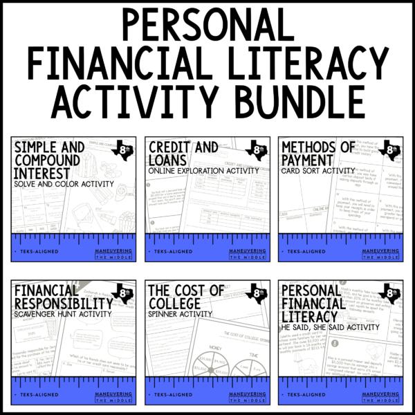 TEKS Personal Finance Activities