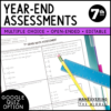 7th Grade Year-End Assessment