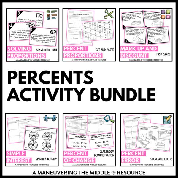 Percents activities