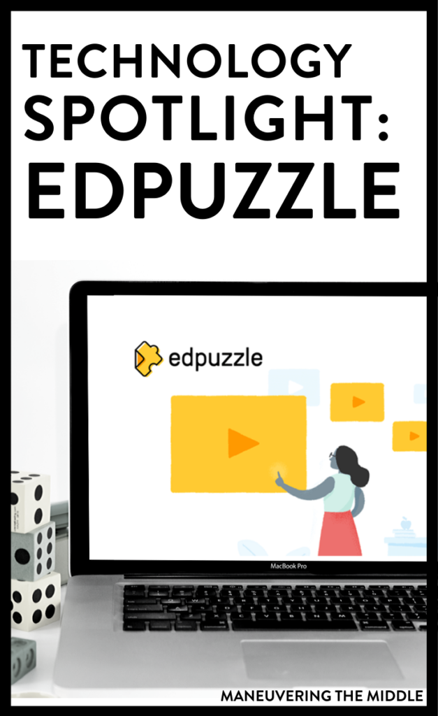 Edpuzzle is a tech tool that flips your classroom or helps teach remotely. Find/make videos and embed questions to see students comprehrension. | maneuveringthemiddle.com