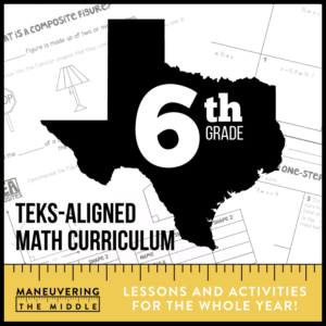 6th Grade TEKS Curriculum