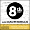 8th Grade CCSS Math Curriculum