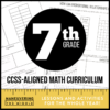 7th Grade CCSS Math Curriculum