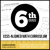 6th Grade CCSS Math Curriculum