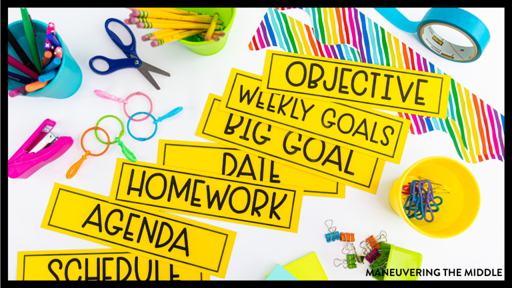 Find everything you need to know to prepare for this school year here. All back-to-school tips and tricks for the best school year ever! | maneuveringthemiddle.com