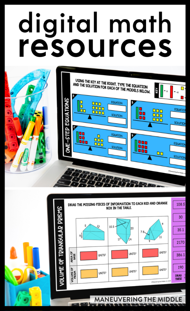 Maneuvering the Middle has updated our digital math resources. We have shifted to online learning by updating our paper-based curriculum. Learn more here! | maneuveringthemiddle.com