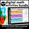Algebra 1 Digital Activity Cover