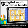 8th grade digital activities bundle