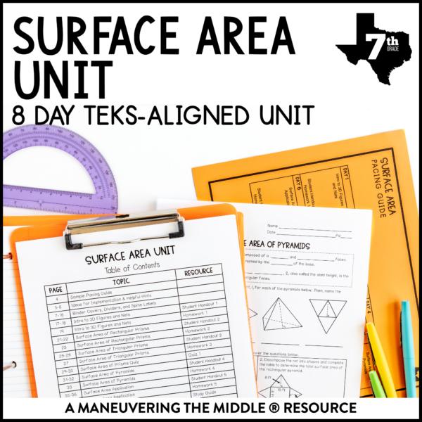 Surface Area Unit