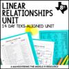 Linear Relationships Unit