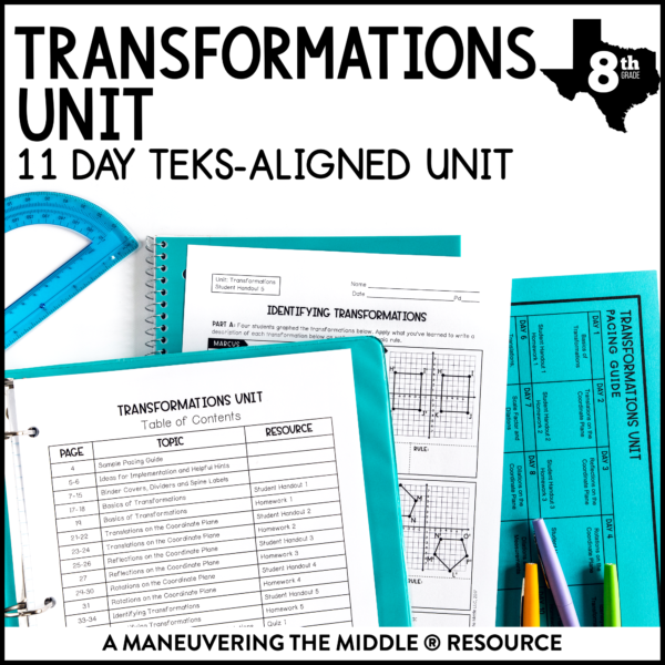 Transformations Unit