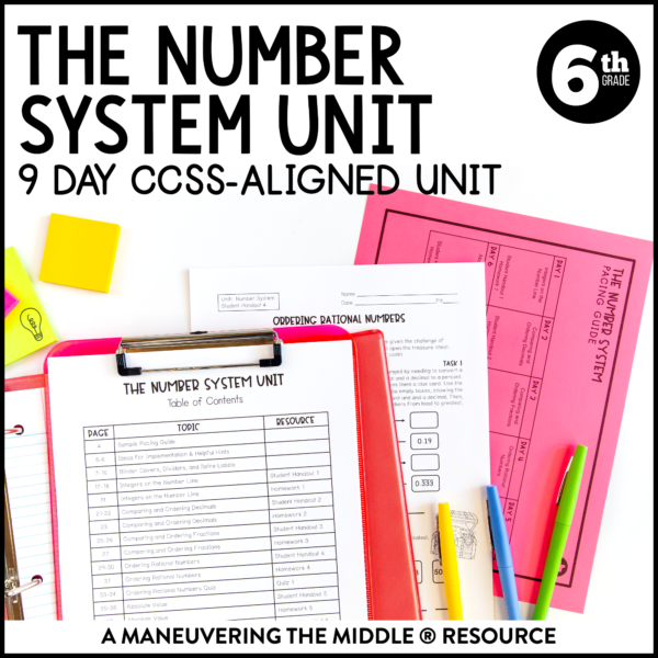 rational number system unit