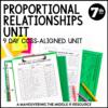 Proportional Relationships Unit