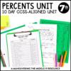 Percents Unit