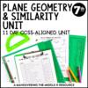 Plane Geometry and Similarity Unit