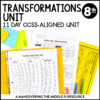 ccss 8th transformations unit