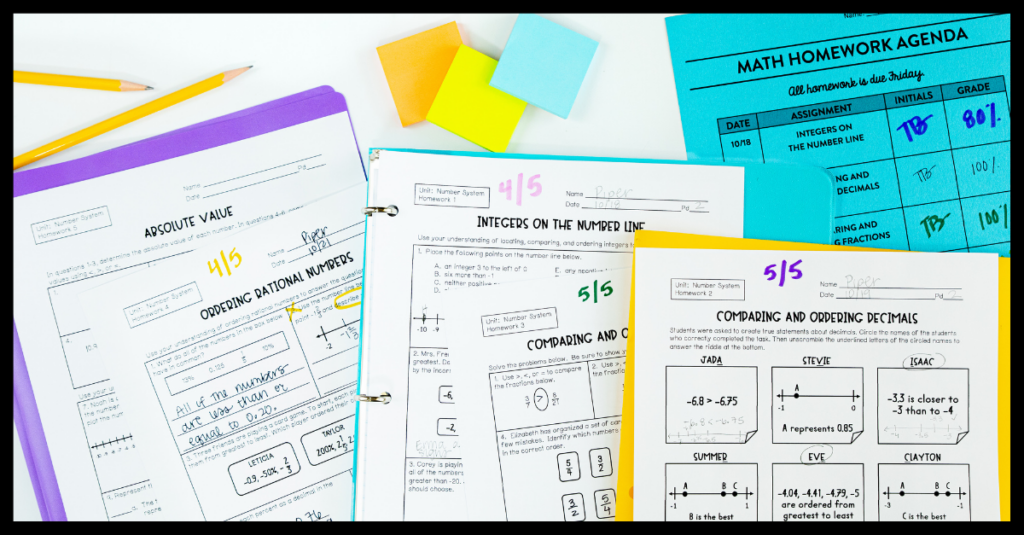 Should you assign homework? We share academic and emotional pros and cons for students and the best practices for assigning homework. | maneuveringthemiddle.com